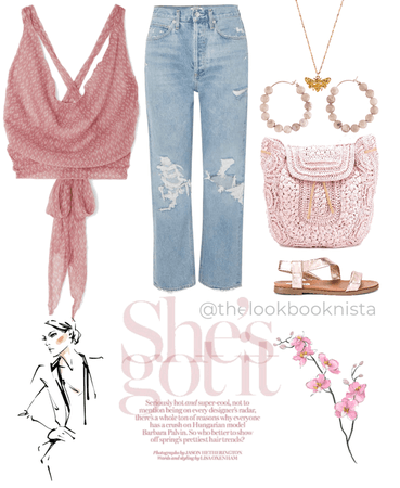 Pretty in Pink-Denim