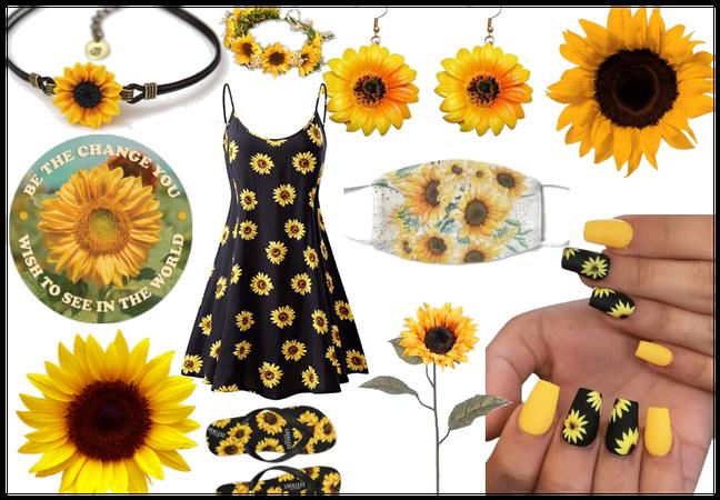 fave flower challenege (sunflower sweetie)