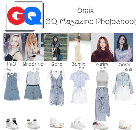 《6mix》GQ Magazine Photoshoot