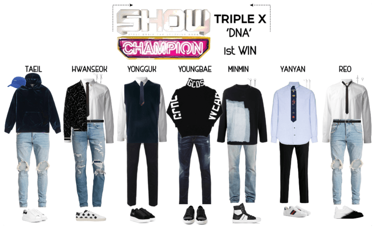 {TRIPLE X} 'DNA' 1st Win