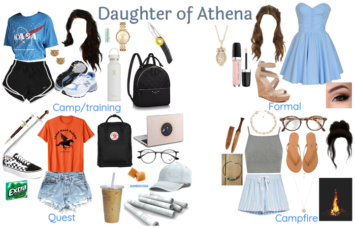 Daughter of athena outfit