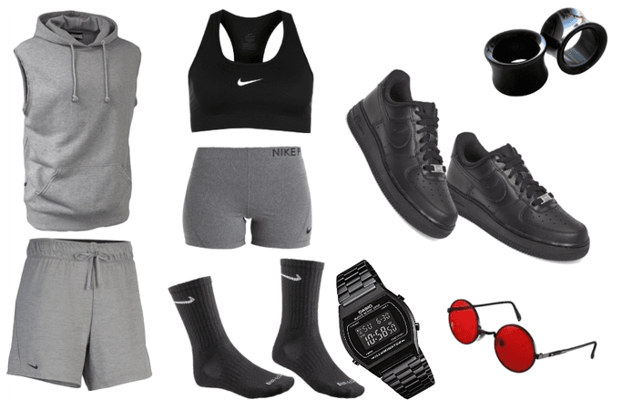 (Butch) Jogging/Walking Outfit