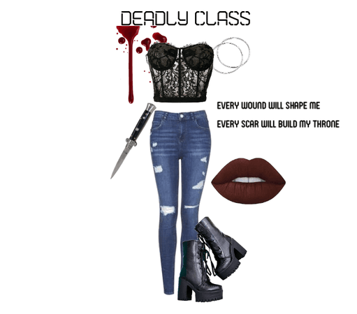 Deadly Class Outfit 9