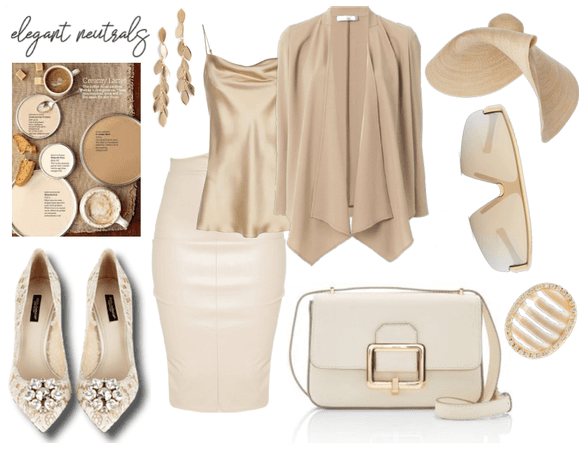 Elegant in neutrals