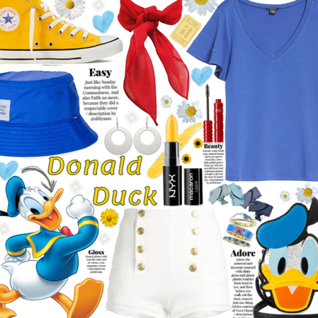 Donald Duck| Welcome back Disney|