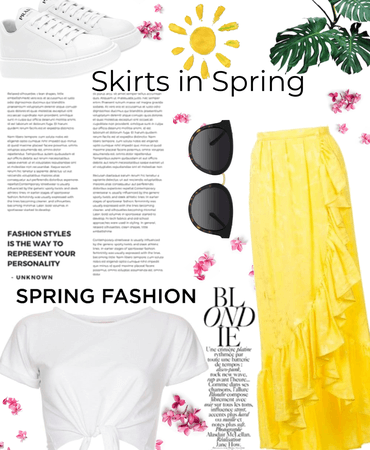 skirts in spring