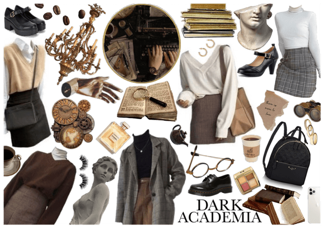 Dark Academia Aesthetic