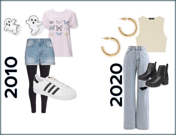 2010 vs 2020 fashion