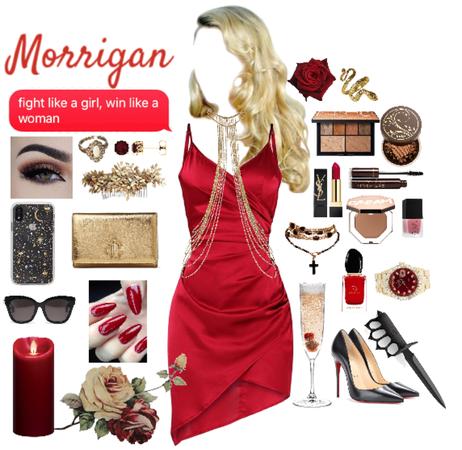 Present day Morrigan