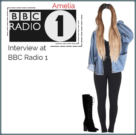 Amelia - Interview at BBC Radio 1