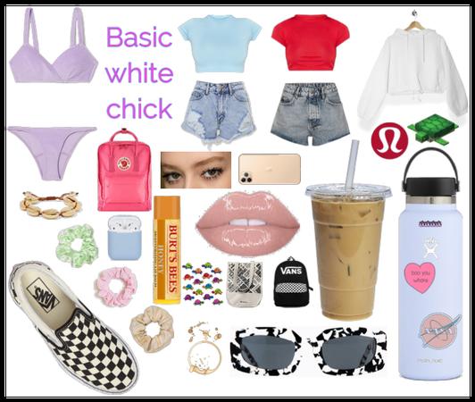 Basic white chick - vsco