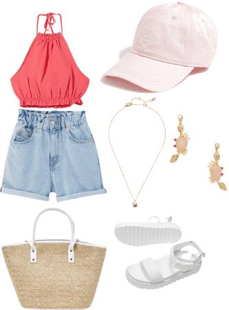cancer summer beach outfit 🦀