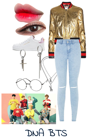 bts dna inspired outfit ( u as the 8th member)