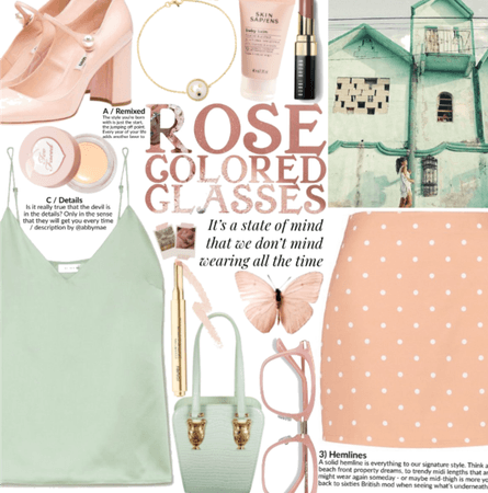 Rose colored glasses.. and muted pastels