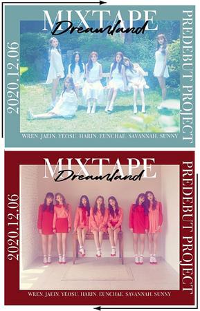 DREAMLAND Mixtape   Group Concept Photos