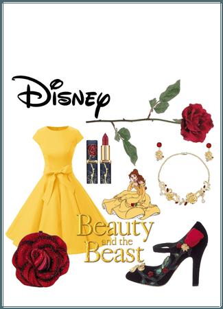 Belle Disney Bounding