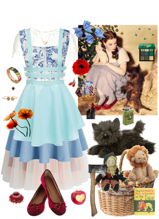 The Wizard of Oz Dorothy Gale Cosplay