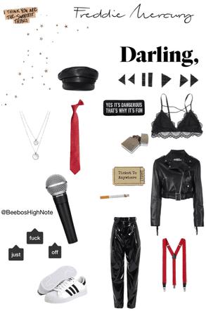 Freddie Mercury outfit inspiration