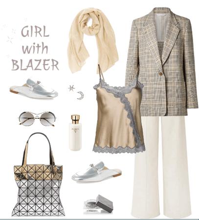 Girl with Blazer