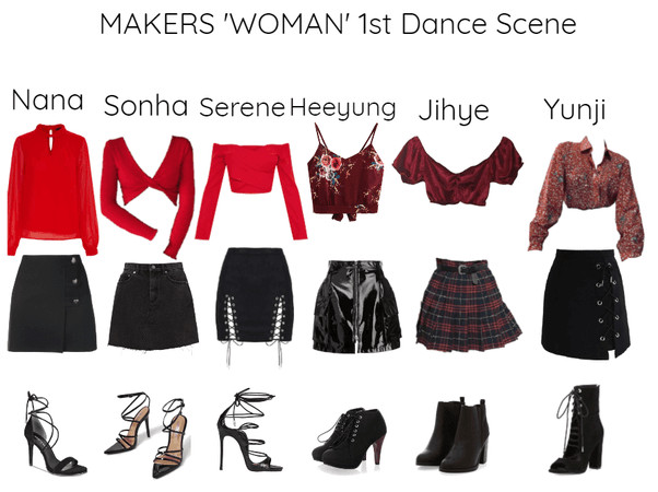 MAKERS 'WOMAN' MV 1st Dance Scene