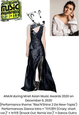 ANA.N during Mnet Asian Music Awards 2020 - Performance Outfit