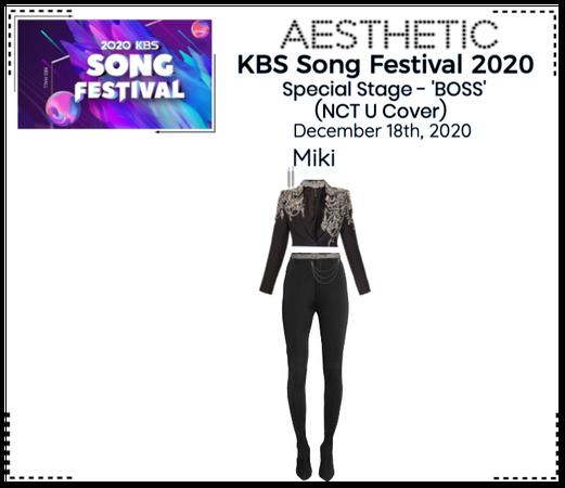 AESTHETIC (미적) [KBS SONG FESTIVAL 2020]