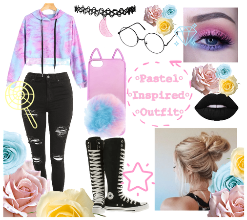 Pastel Inspired Outfit