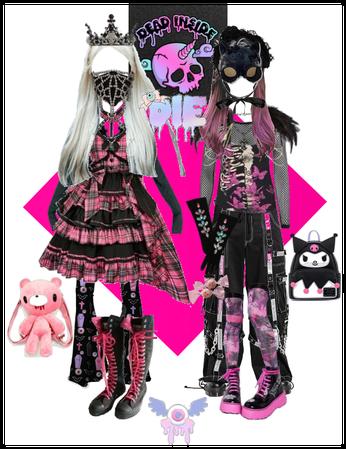 pink gothic