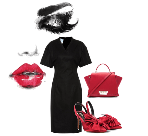 Must-have-evergreen-litle-black-dress-red