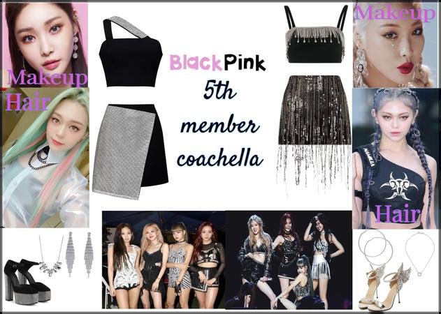 BLACKPINK 5th member coachella