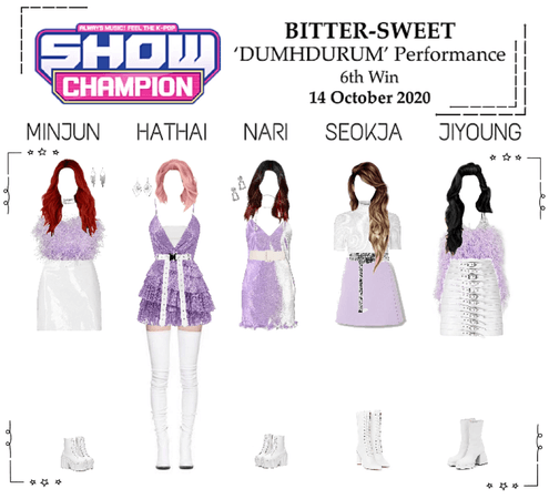 BITTER-SWEET [비터스윗] Show Champion 201014