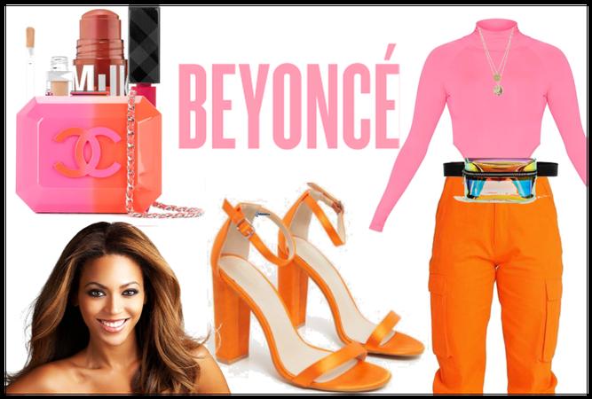 the orange and pink llife