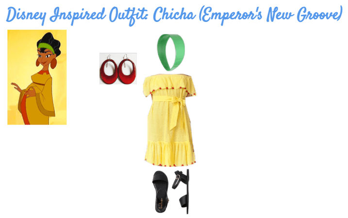 Disney Inspired Outfits: Chicha