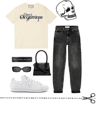 grunge style fit