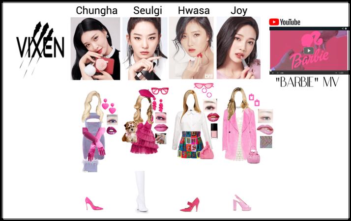 """VIXEN """"barbie"""" MV part one"""