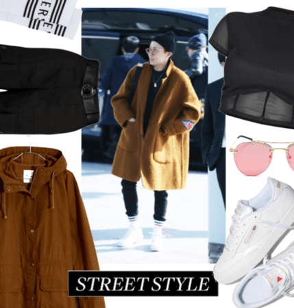 hoseok´s airport fashion