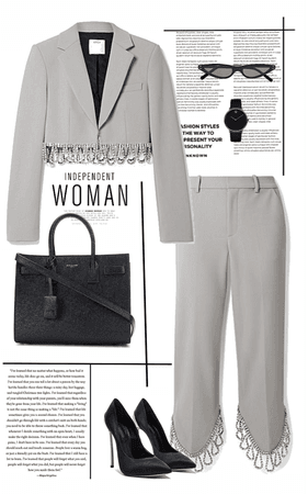 """Boss Lady"" - Lady in Gray"