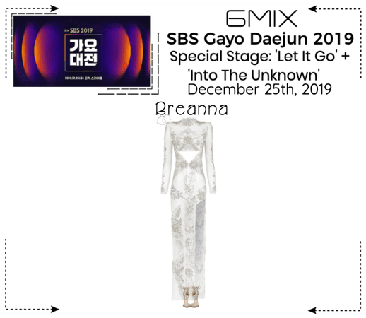 《6mix》SBS Gayo Daejun 2019 Special Stage