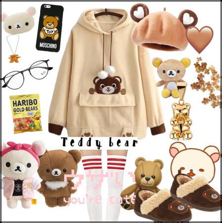 Bear bear outfit!