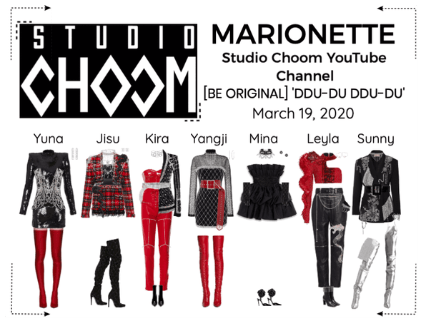 MARIONETTE (마리오네트) Studio Choom YouTube Video