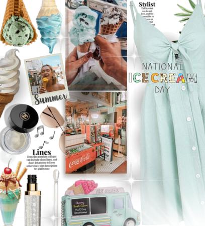 A mint ice . Cream day
