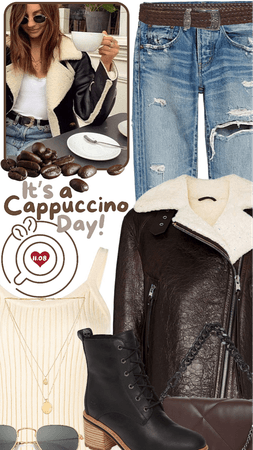 it's a cappuccino day!