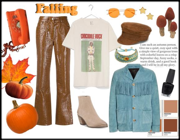 Elton At The Pumpkin Patch