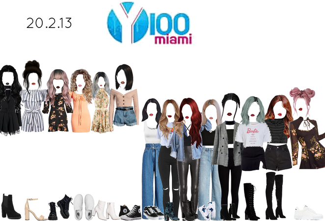 the girls on Y Miami 100