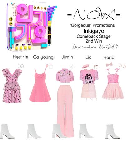 -NOVA- 'Gorgeous' Inkigayo Stage