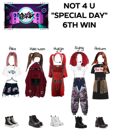 "Not 4 U ""Special Day"" Music Bank (6th Win)"