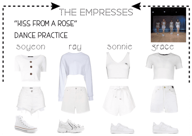 """[THE EMPRESSES] """"KISS FROM A ROSE"""" DANCE PRACTICE"""