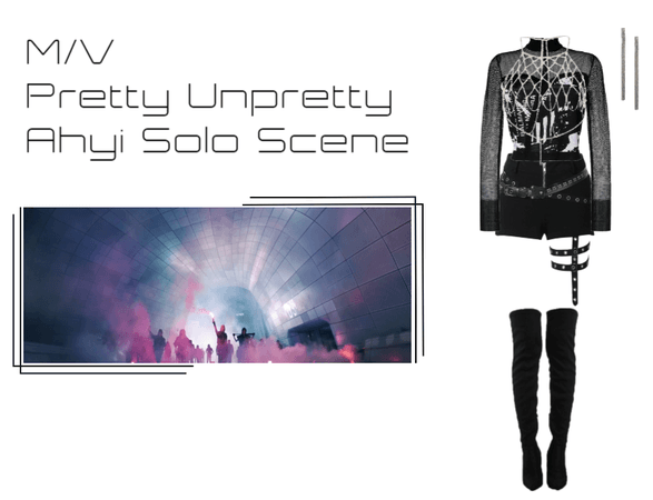 ☾heshire Moon - Pretty Unpretty MV - AY Solo Scene