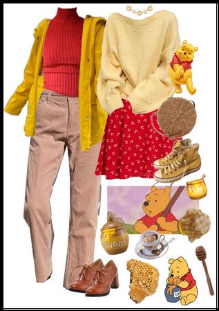 winnie the pooh aesthetic: honeycore