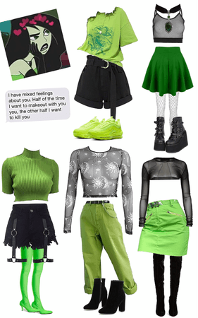 Inspired by #Shego